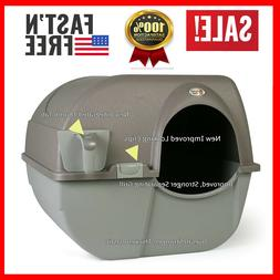 Cat Litter Box Self Cleaning Automatic Roll N Clean Removabl