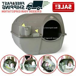 Cat Litter Box Self Cleaning Automatic Roll Clean Removable