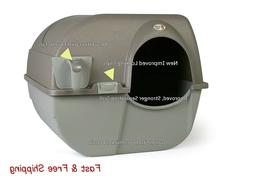 cat litter box self cleaning automatic roll