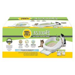 Cat Litter Box System by Purina TIDY CATS color White & Gree