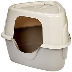 AmazonBasics Cat Litter Box, Triangle