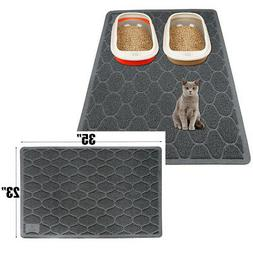 cat litter mat double layer pad large