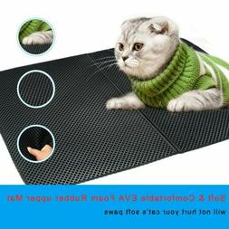 Cat litter Mat - Double Layer Pad -Trapper Foldable Pad Pet