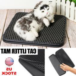 Cat Litter Mat Double Layer Pet Pad Trapper Waterproof Foam