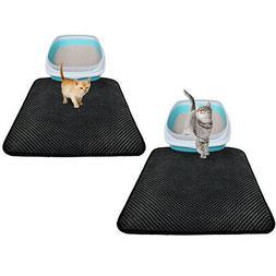 Cat Litter Mat Double Layer Trapping Pad Nonslip Waterproof