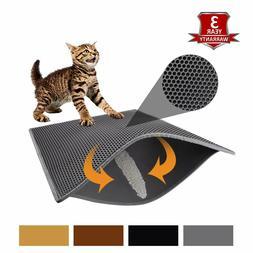 """Pieviev Cat Litter Mat Litter Trapping Mat, 30"""" X 24"""" Inch H"""