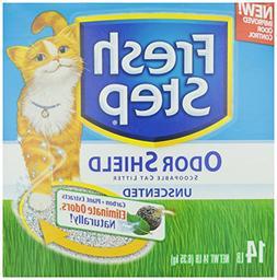 Fresh Step Scoopable Cat Litter, Perfume & Dye Free, 14 lb