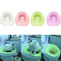 Cat Toilet Training Kit Cleaning System Pets Potty Litter Cr