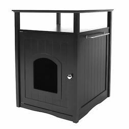 Zoovilla Cat Washroom Litter Box Cover / Night Stand Pet Hou