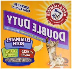Church & Dwight 02208 Cat Litter, Double-Duty, Clumping, 20-