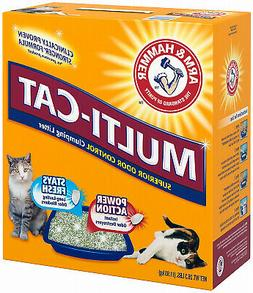CHURCH & DWIGHT COMPANY Multi-Cat Strength Clumping Litter,