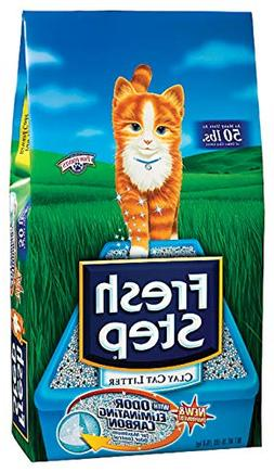 Fresh Step Premium Clay Cat Litter 35-lb bag and Extreme Car