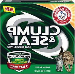 Arm and Hammer Clump and Seal Litter With Micro Guard, 19 Lb