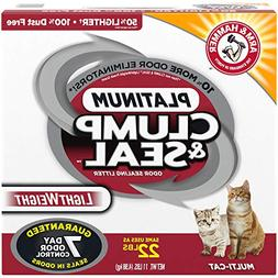 ARM & HAMMER Clump & Seal Platinum Lightweight Litter, Multi
