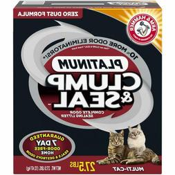 Arm Hammer Clump Seal Platinum Litter, Multi-Cat, 27.5 Lbs