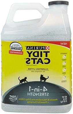 Tidy Cats Clumping Litter, 4-in-1 Strength For Multiple Cats