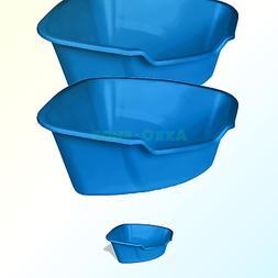 Van Ness Corner High Sides Cat Litter Pan, Large, Blue 2-Pac