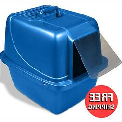 Covered Cat Filter Litter Box Extra Giant for Large Cats Hou