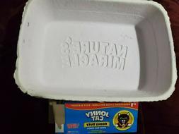 Disposable Cat Litter Boxes, 2-Count + 3 Jonny Cat Jumbo Lin