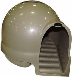 Booda Dome Clean Step Cat Litter Box Titanium