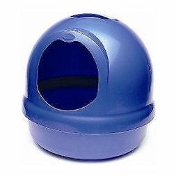 Booda Dome Covered Cat Litter Box Dark Blue
