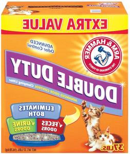 Arm & Hammer Double Duty Clumping Litter, 37-Pound
