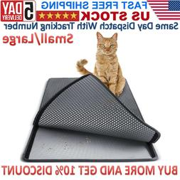 Double-Layer Rug Pad Foam Cat Waterproof Foldable Trapper-US