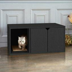 Way Basics Eco-Friendly Cat Litter Box Enclosed Hidden Cat L