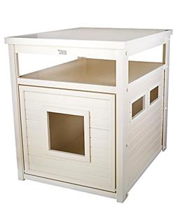 ecoFLEX Jumbo Litter Loo, Litter Box Cover/End Table, New
