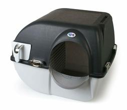 Elite Roll 'n Clean Litter Box Self Cleaning Regular Midnigh