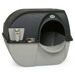 Omega Paw Elite Roll 'n Clean Self-Cleaning Litter Box