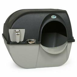 Omega Paw Elite Roll 'n Clean Self-Cleaning Litter Box