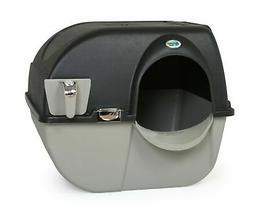 Omega Paw Elite Self Cleaning Roll 'N Clean Litter Box, Midn