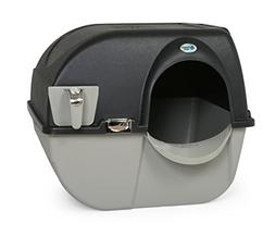 Omega Paw Elite Self Cleaning Roll 'n Clean Litter Box, Midn