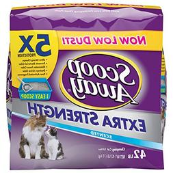 Scoop Away Extra Strength Clumping Cat Litter, Scented, 42 P