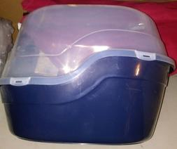 """FAVORITE END ENTRY COVERED CAT LITTER BOX LARGE 25""""L X 19""""W"""