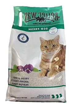 Better Way Eco Fresh Clumping Cat Litter , 12lb bag