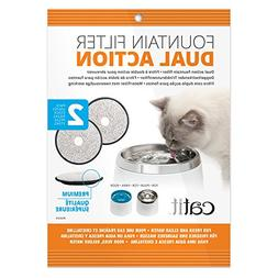 Catit Fresh & Clear Dual-Action Replacement Filters 2ct
