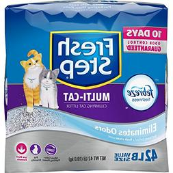 fresh scoopable clumping cat litter