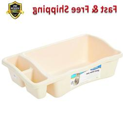 giant litter pan for cat 2 storage