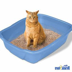 Van Ness Giant High Sides Cat Litter Pan, Assorted Colors