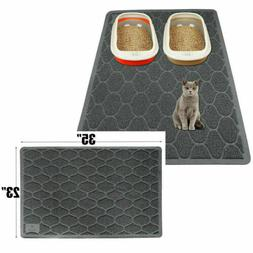 Grey Pets Cat Litter Mat Durable Waterproof  Easy Cleaning