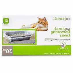 So Phresh Drawstring Cat Litter Box Liners XLarge