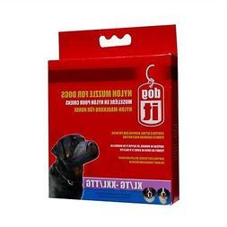 Hagen DogIt NYLON LARGE BREED BIG DOG MUZZLE BLACK XL XXL 9.