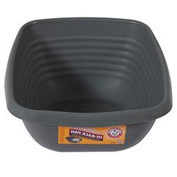 Arm & Hammer Hi-Back Cat Pan/Litter Box, Pearl Ash Blue