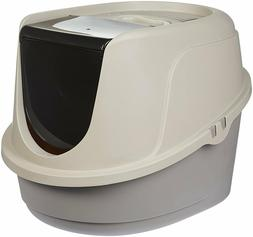 Cat Litter Box Enclosed Pan Hooded Jumbo Giant Covered Kitty