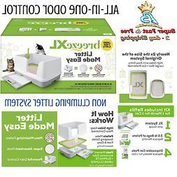 Catit Hooded Cat Litter Pan Kit Large Odor Kitty Box Big Cov