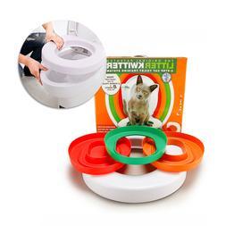 idYllife Cat training Toilet Seat Pet Plastic <font><b>litte