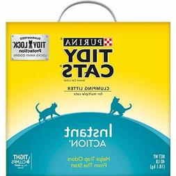 Purina Tidy Cats Instant Action Clumping Cat Litter 40 lb. B