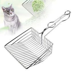 Instant Filter Cat Litter Scoop Heavy Duty Metal Cats Kitty